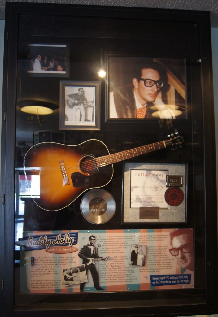 Buddy Holly Memorabilia
